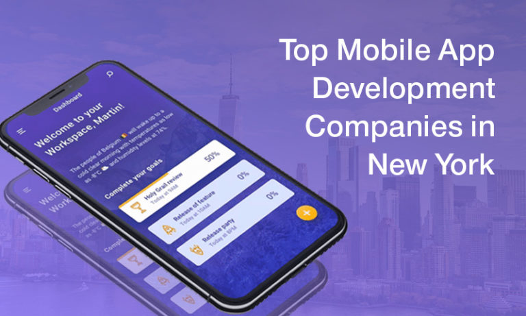 Top 10 Mobile App Development Companies In New York NYC 2019