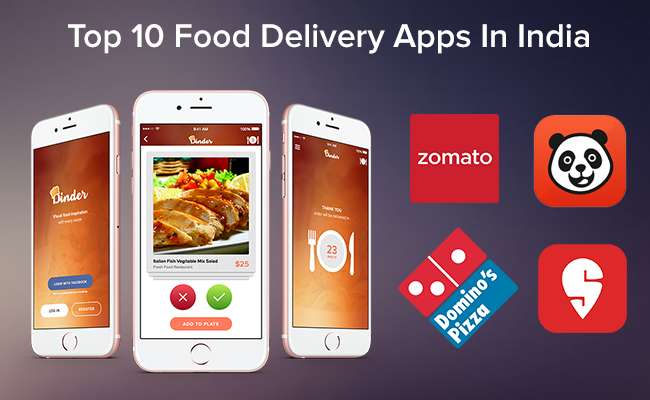 Top 10 Food Delivery Apps in India 2019 - Smarther