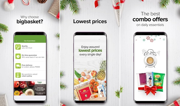 Big Basket Grocery Shopping App
