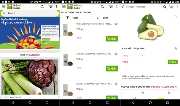 Top 10 Online Grocery Shopping App & Website in India 2019