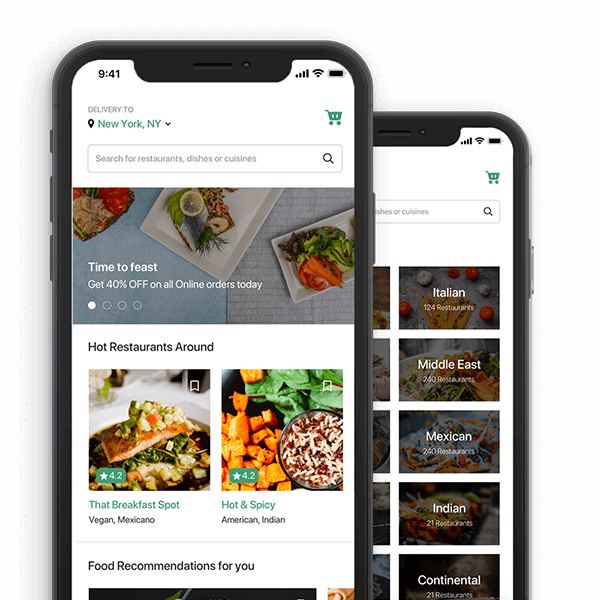 Food delivery App development company | Food Ordering App