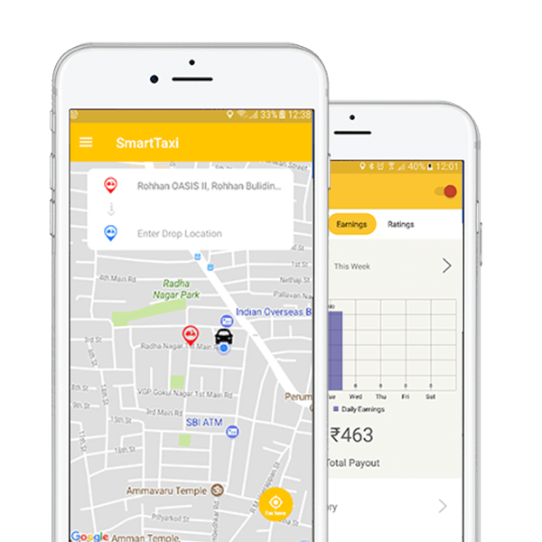 Online Taxi Booking App Development Company | Taxi App Developers